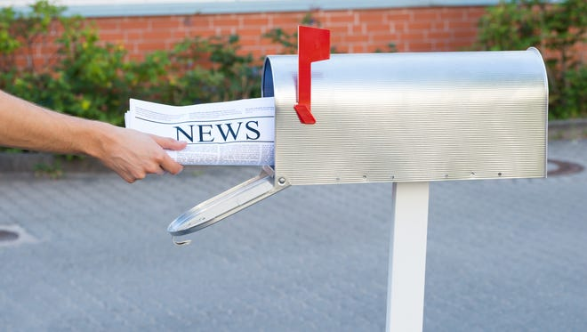 Delivery of newspapers may be delayed up to two hours on Sunday.