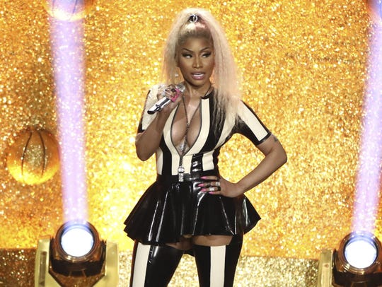 Nicki Minaj performs at the MTV Video Music Awards