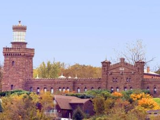 Twin Lights in Highlands affords panoramic views of Sandy Hook and the Atlantic.