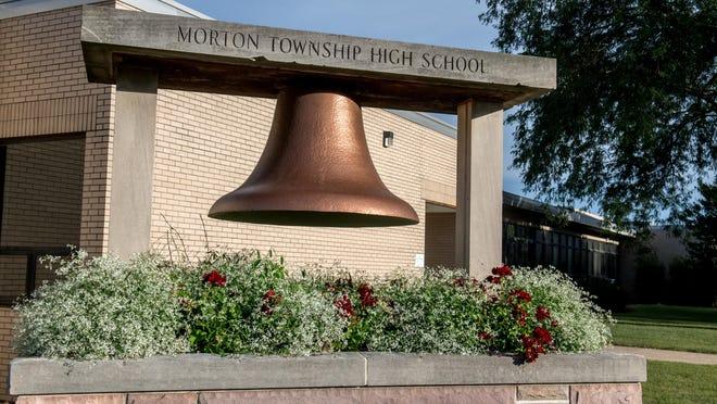 Morton Township High School, 350 N. Illinois Avenue, in Washington. Photo shot on Sept. 2, 2020.