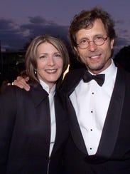 Kathy Mattea and husband, Jon Vezner are shown in this