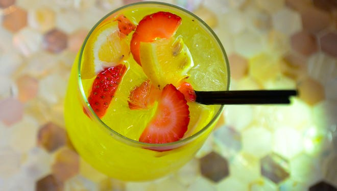 """Culture Authentic Eatery's """"White Sangria,"""" located in West Ocean City. Aug. 25, 2016"""