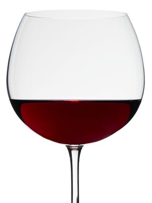 Red wine glasses typically have a wider, rounder bowl