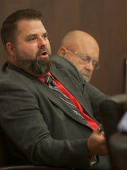 Defense Attorney Matthew Harris during the preliminary