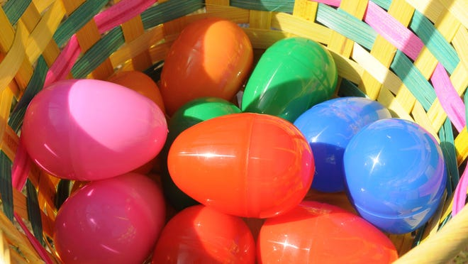 Noblesville's Easter egg hunt scheduled for Saturday is postponed due to weather, but other egg hunts will be offered around town this weekend and next.
