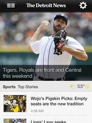 The new Detroit News app is available for iPhone, iPad and Android devices.