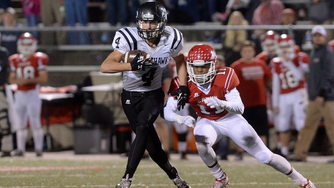 Blake Mathews was a 1,000-yard receiver as a junior for North Buncombe.