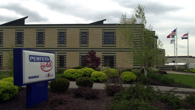 Exterior of the Perfetti Van Melle facility in Erlanger.