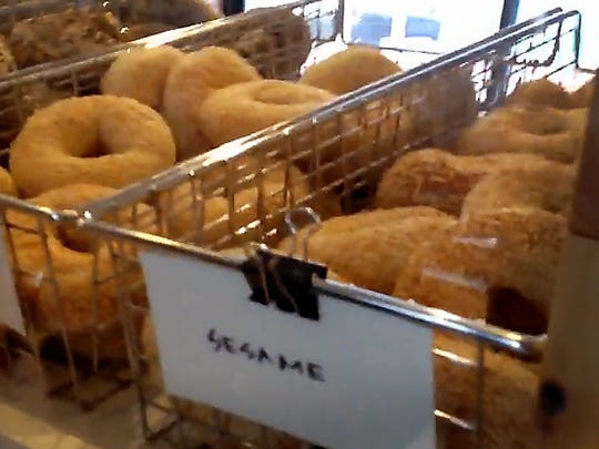 Bagels from the Detroit Institute of Bagels in Corktown.