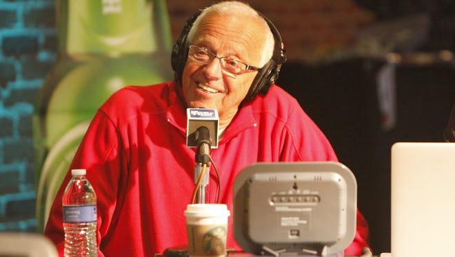 Reds radio announcer  Marty Brennaman