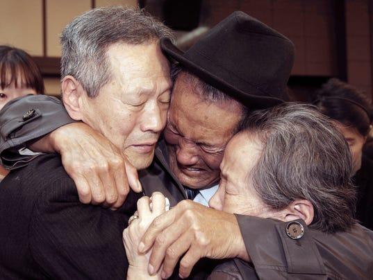 AP KOREAN FAMILY REUNIONS I FILE PRK