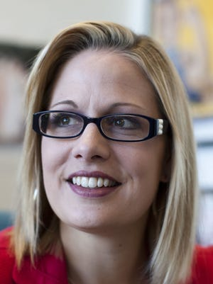 Republicans criticized Rep. Kyrsten Sinema's  failure to adequately screen her donors.