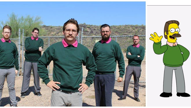 Okilly Dokilly is inspired by 'Ned Flanders' of 'The Simpsons'