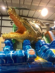 The popular inflatable play place, Jump Zone of Lafayette,