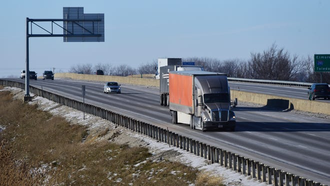 The Ohio Turnpike Commission plans to replace the pavement in a five-mile stretch of road between Sandusky Township and Riley Township in 2017.