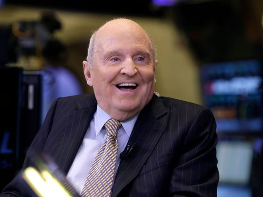 Former Chairman and CEO of General Electric Jack Welch