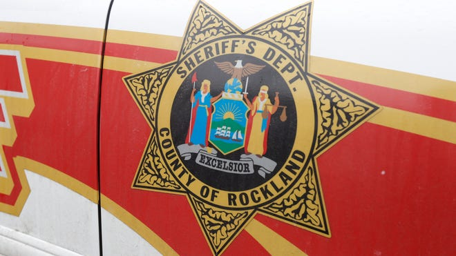 Rockland Sheriff Dept Sign Feb. 18, 2014.   ( Ricky Flores / The Journal News )