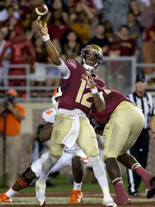 NCAA Football: Clemson at Florida State