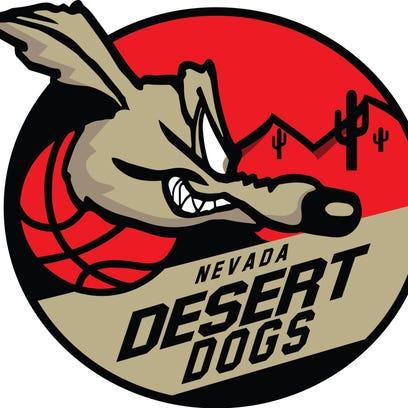 The logo for the NAPB's Nevada Desert Dogs.