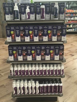 Buncombe County commissioners on Tuesday approved nearly $900,000 in economic incentives for Avadim Technologies, which makes skin care products and will locate a $20-million facility in Black Mountain. Sona Pharmacy on Fairview Road is the first retail outlet to stock Avadim's skincare products.