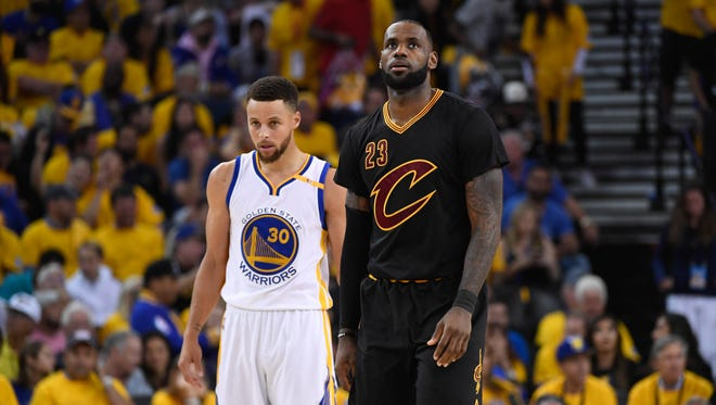 Steph Curry and LeBron James are the highest paid players in the NBA in rankings of NBA players by salary.