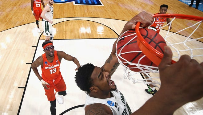 Nick Ward had until 5 p.m. Thursday to decide whether to remain in the NBA draft or return to Michigan State for his junior year.