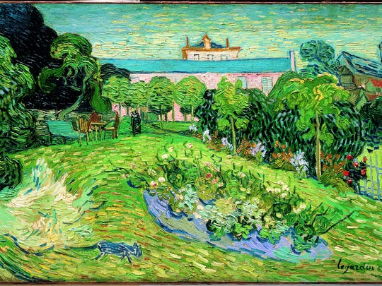 "Vincent van Gogh, ""Daubigny's Garden,"" 1890, oil on canvas."