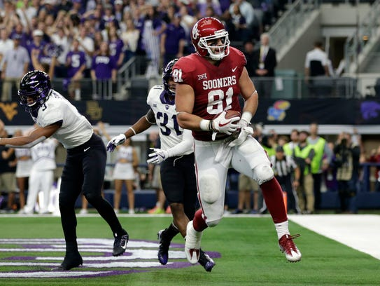 Former Desert Mountain standout Mark Andrews (81) is eager for the 2018 NFL draft.