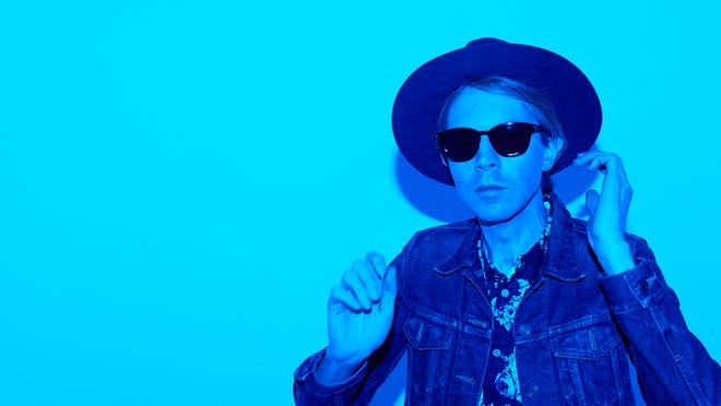 Beck performs at 9 p.m. Sunday on the Hangout Stage, closing out the 2015 Hangout Music Fest.