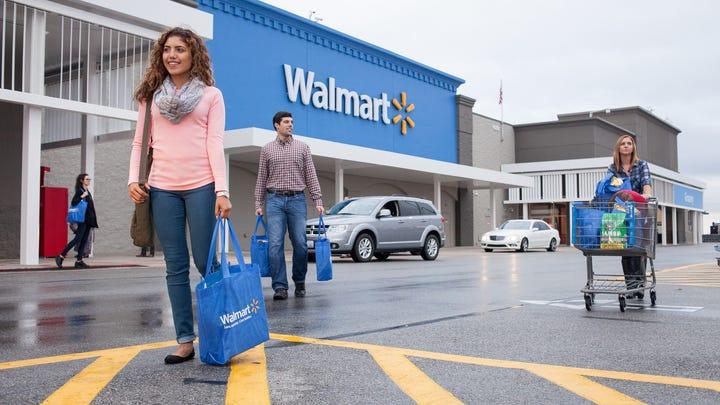 Walmart robot janitors will mop floors, scan shelves, sort items and more
