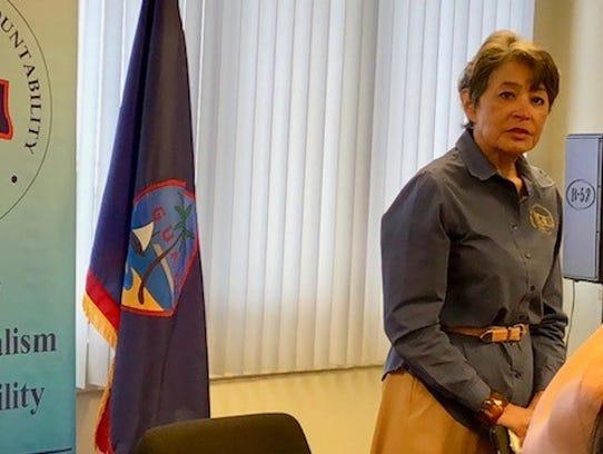 Public Auditor Doris Flores Brooks on Wednesday said
