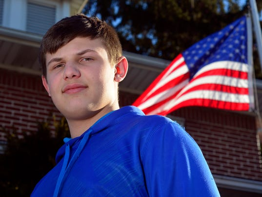 PHOTOS: West York teen raises money for vets