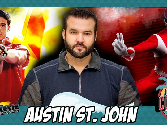 Austin St. John, the original Red Power Ranger, will be at the Corpus Christi Comic Con July 22-23 at the Richard M. Borchard Regional Fairgrounds.