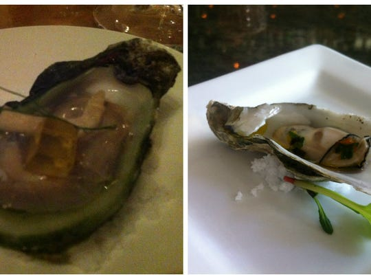 Mourn these oysters (left). They drowned in darkness.