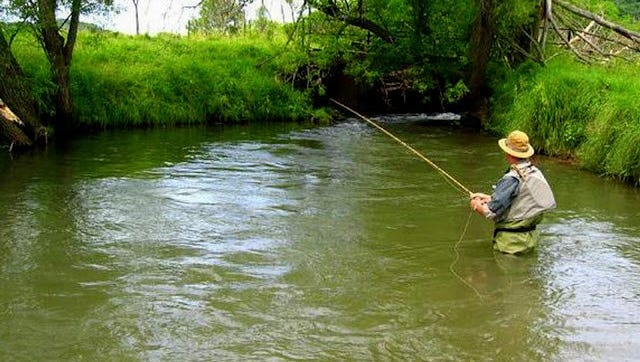 The early catch and release season opens the first Saturday of January yearly.