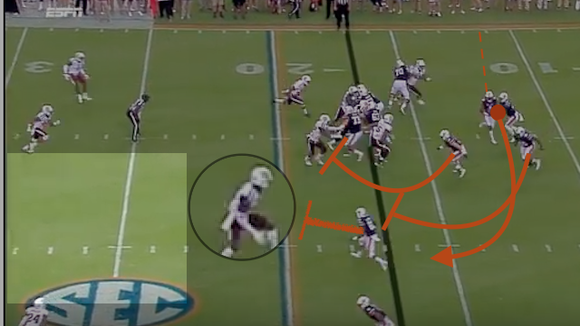 Similarly to these run by Jason Smith for no gain against
