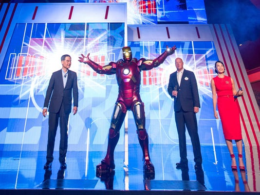 Iron Man Experience Opens at Hong Kong Disneyland
