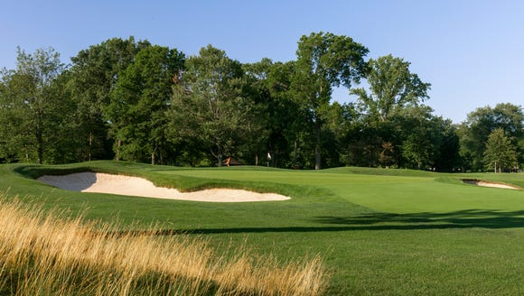 The 12th Hole of Quaker Ridge Golf Club in Scarsdale,