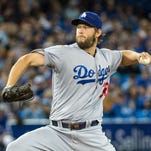 Kershaw struck out 10 in seven innings of work Saturday.