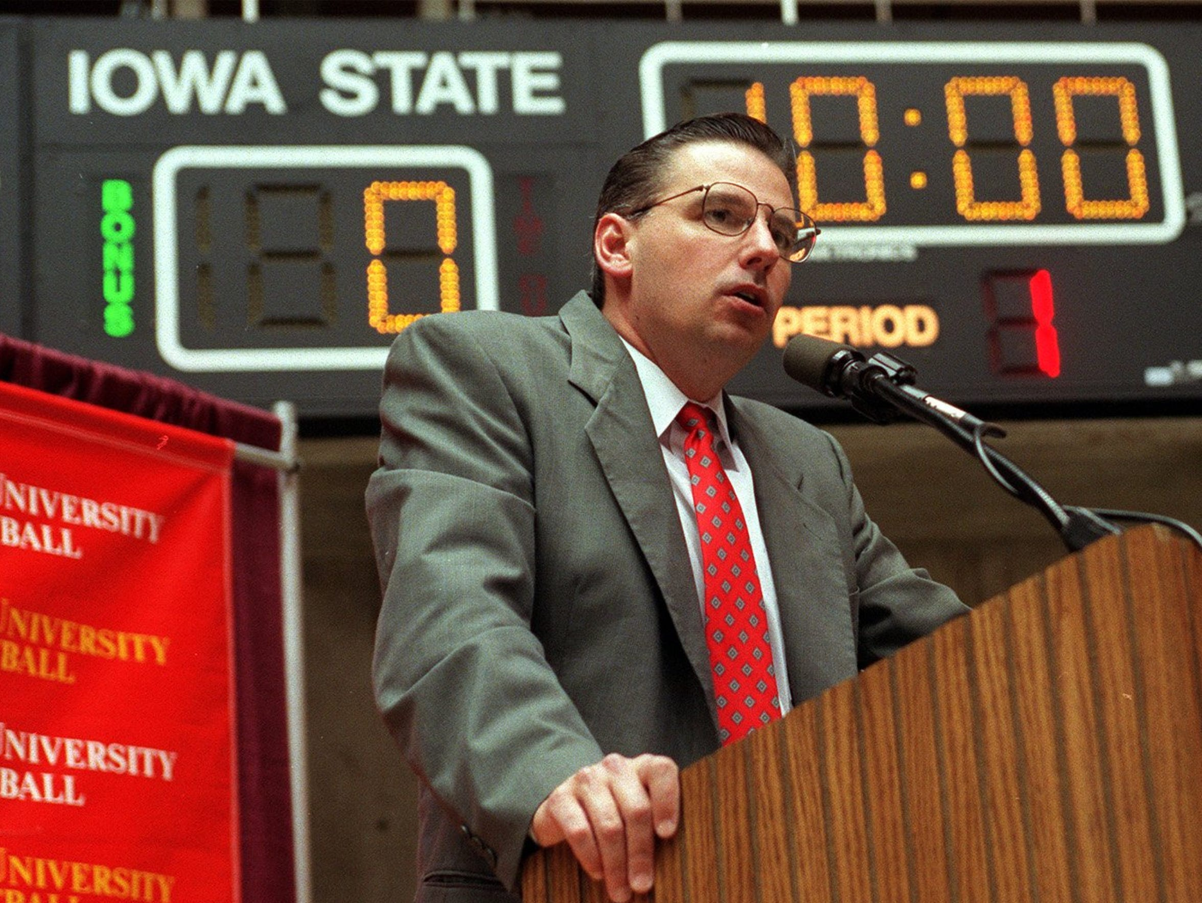 Larry Eustachy came to Iowa State in 1998 with a reputation