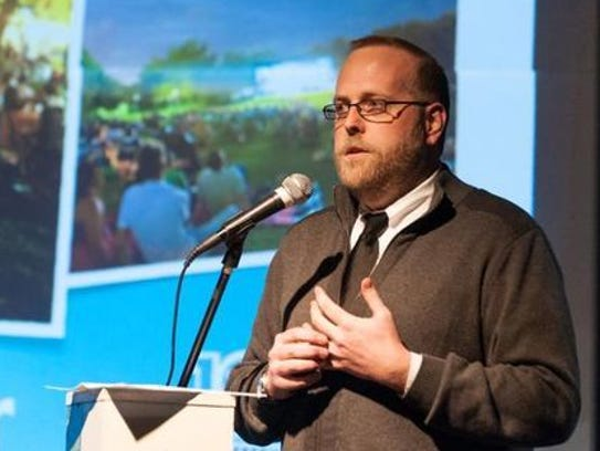 Craig Mince, theater manager of the IMAX Theatre at