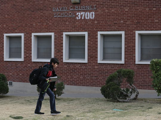 Burnet Elementary School students are dismissed for the day Tuesday.