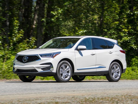 2019 acura rdx review  price  power drive suv forward