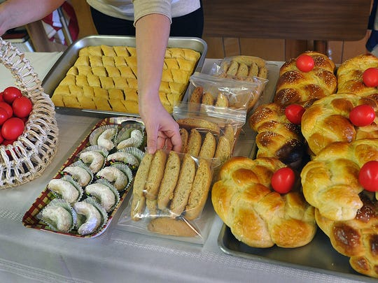Holy Cross Greek Orthodox Church is preparing for the annual Greek Bake Sale this Saturday from 9 a.m. until sold out.
