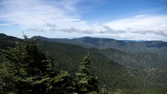 Mount Mitchell State Park more than doubled its size