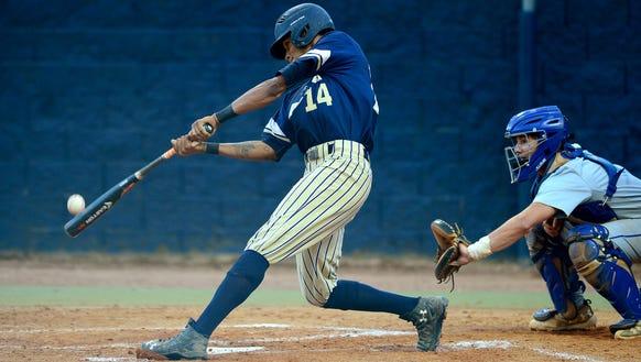 Collin Watt and Roberson baseball are in the NCHSAA