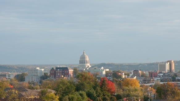 Jefferson City VisitMO Fall Aerial