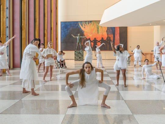 "Heidi Latsky, a New York City-based choreographer, calls On Display a ""moving installation."""