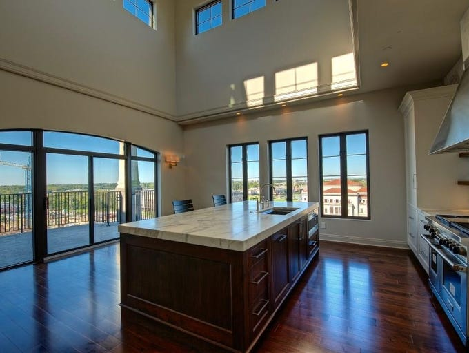 This 3,300 square-foot penthouse condo in Carmel includes
