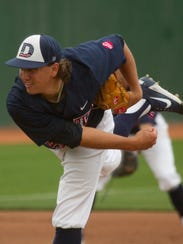Dixie State's Dylan File was drafted by the Milwaukee